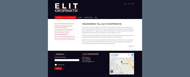 Elit Kiropraktik – Sweden