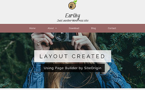 Earthy WordPress Themes