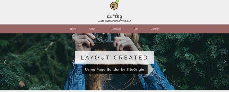 Earthy WordPress Themes